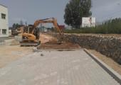 BOSCH Rexroth, Constructie parcare noua